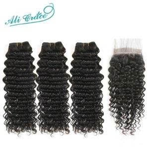 Ali-Gnade-Haar-Brasilianische-Tiefe-Welle-mit-Verschluss--Bundles-Tiefe-Welle-Haar-mit-Verschluss-x-